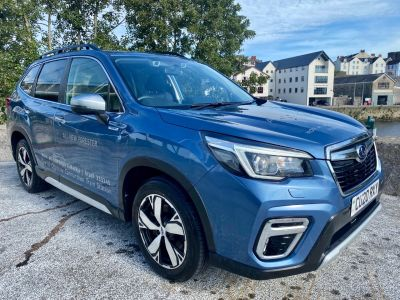 Subaru Forester 2.0i e-Boxer XE Premium 5dr Lineartronic Estate Petrol/Electric Hybrid BLUE at Howards Subaru Carmarthen