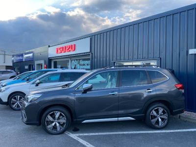 Subaru Forester 2.0i e-Boxer XE Premium 5dr Lineartronic SUV Petrol / Electric Hybrid Magnetite Grey Metallic at Howards Subaru Carmarthen